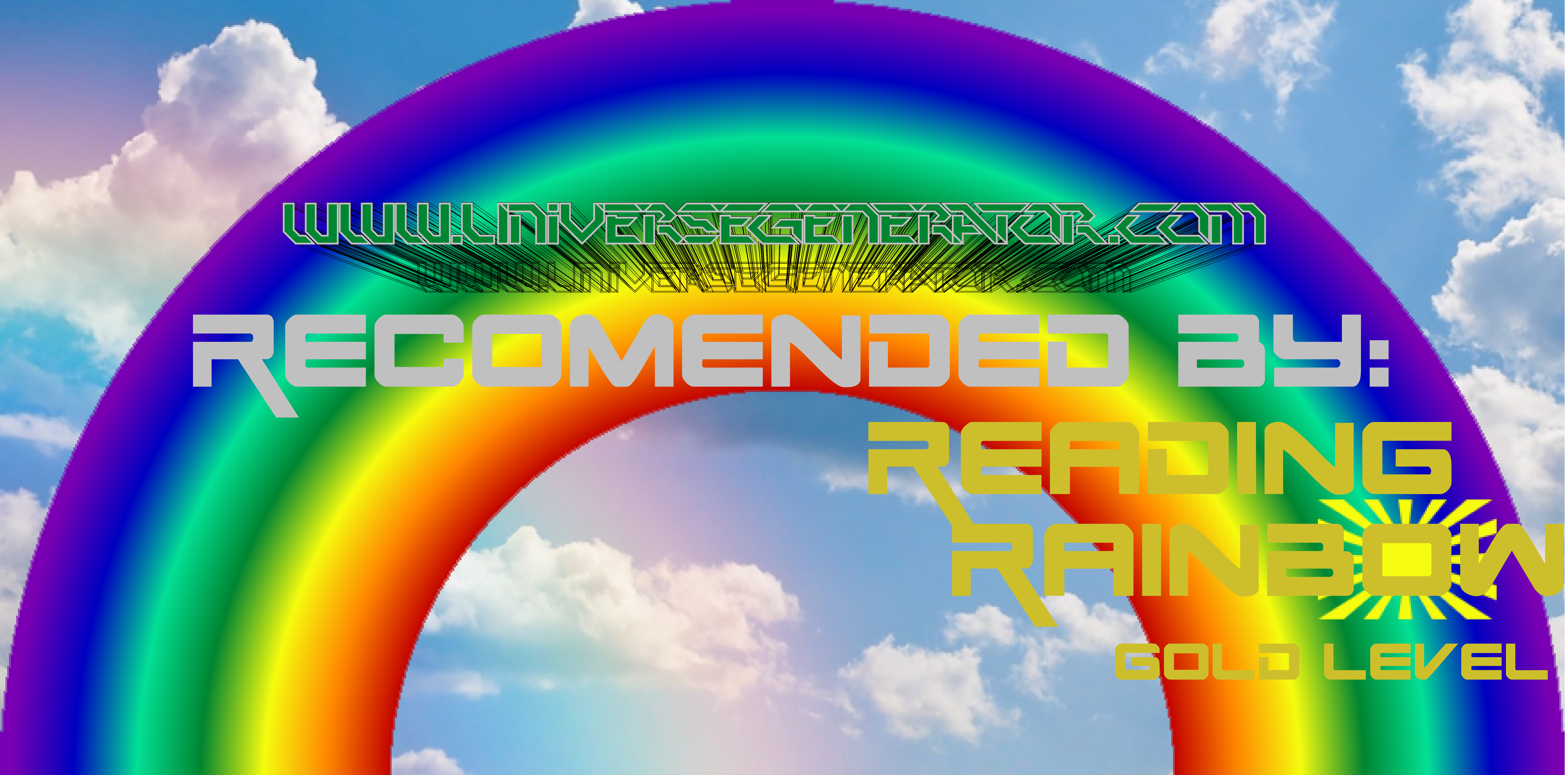 Reading Rainbow, Reading Rainbow Recommended Reading, Gold Level